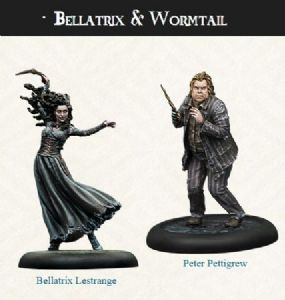 Harry Potter Miniatures Adventure Game : Bellatrix and Wormtail Expansion